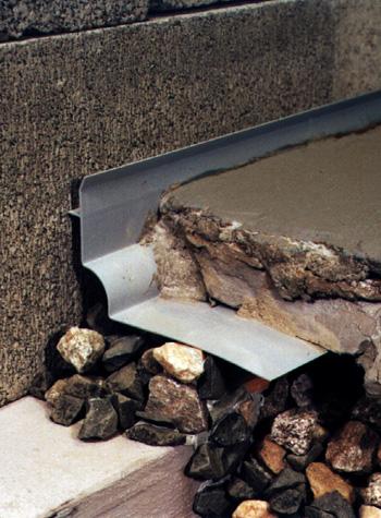 basement wall drain system in Truro, NS