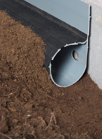French drain in valparaiso elkhart south bend mishawaka for Residential french drain